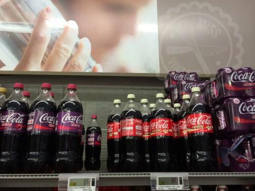 Cherry Coke y Vanilla en BOTELLAS (Hi civilization!)