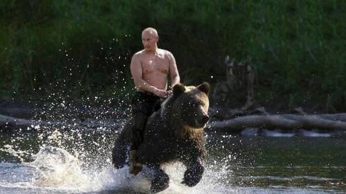No, no tiene nada que ver con este Putin, aunque es muy épico xD